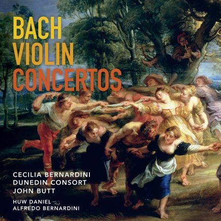 Bach Concertos Cover